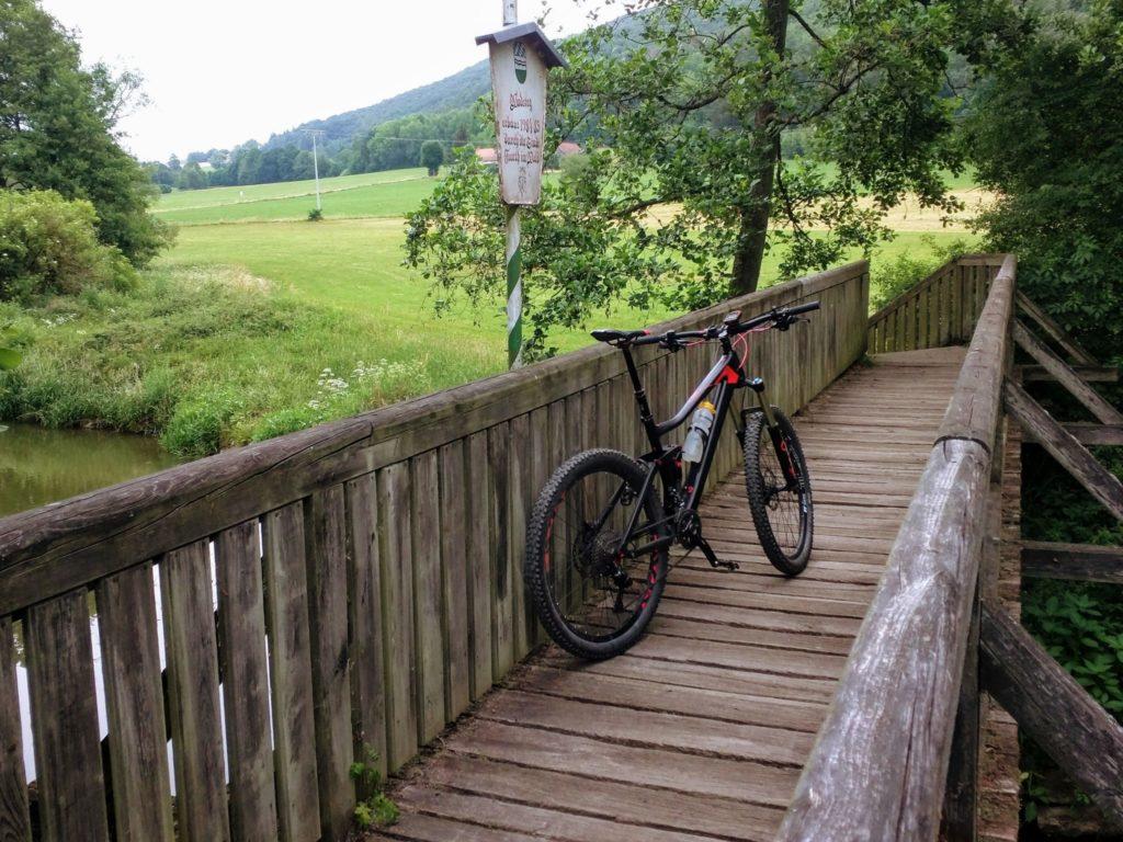 Brücke über die Chamb bei Furth im Wald