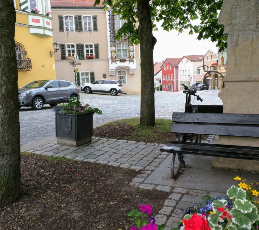 Stadtplatz in Furth im Wald