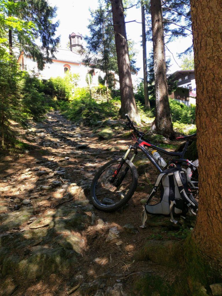 Trail bei Marie Hilf