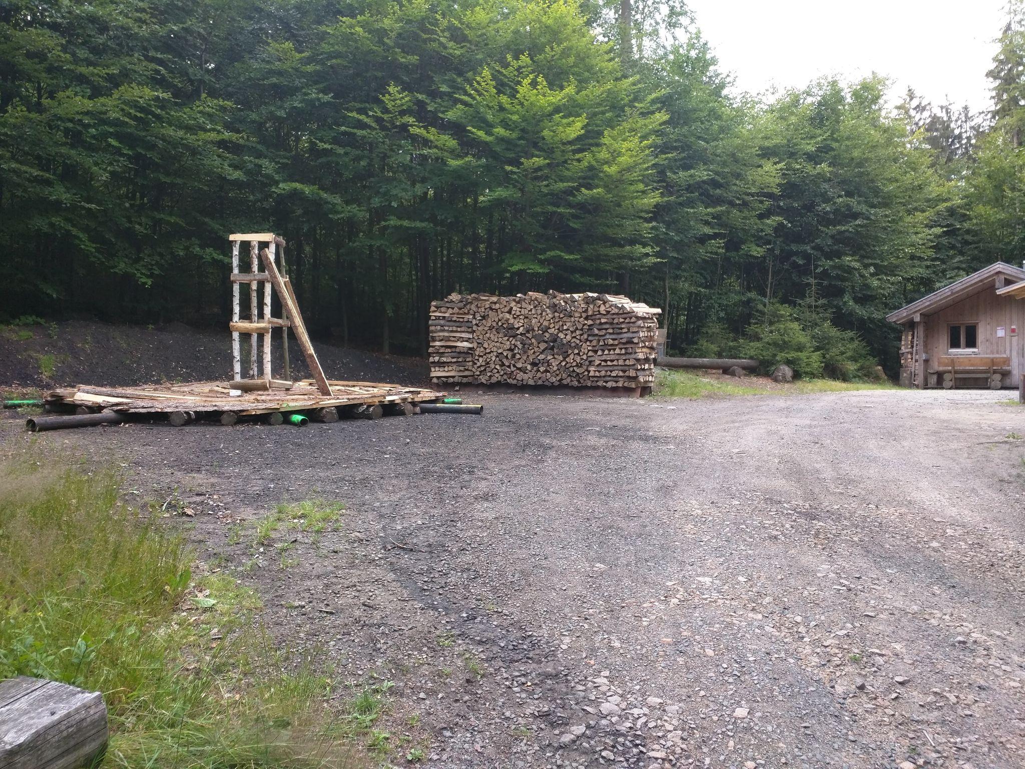 Kohlenmeiler bei Waldmüchen