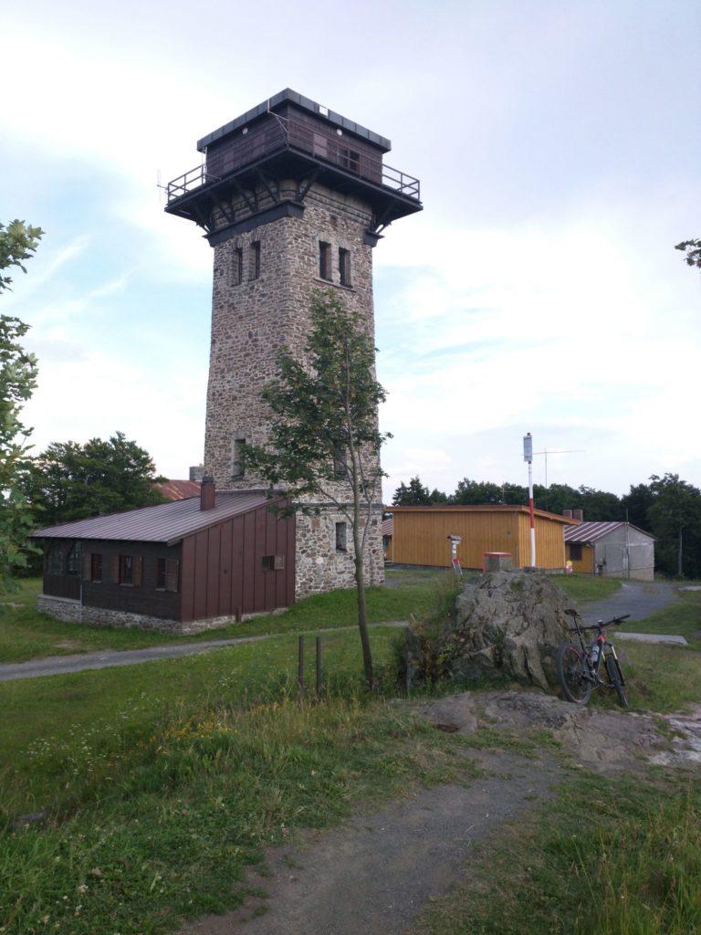 Kurz-Turm auf dem Cerchov