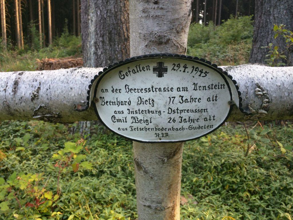 Soldatengrab bei Arnstein