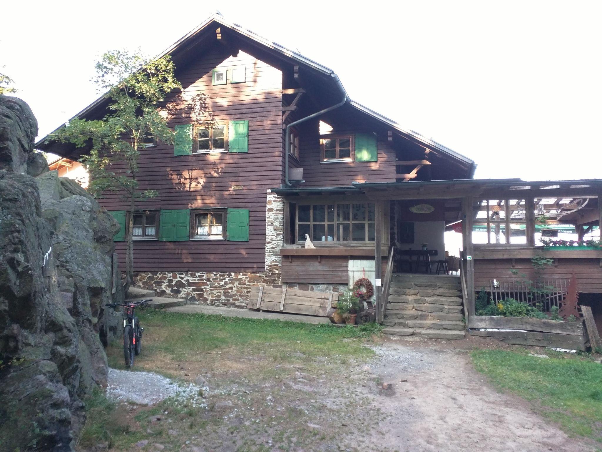 Kötztinger Hütte auf dem Kaitersberg
