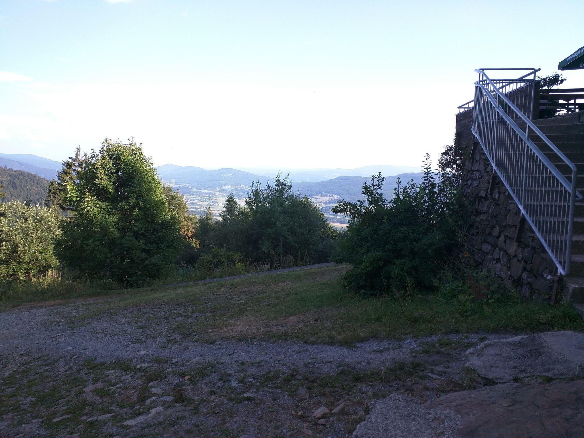 Blick von der Kötztinger Hütte