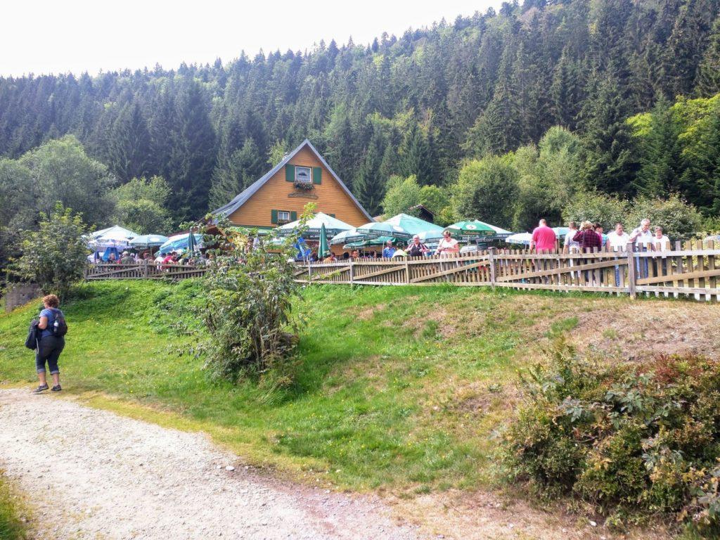 Seehütte am Kleinen Arbersee