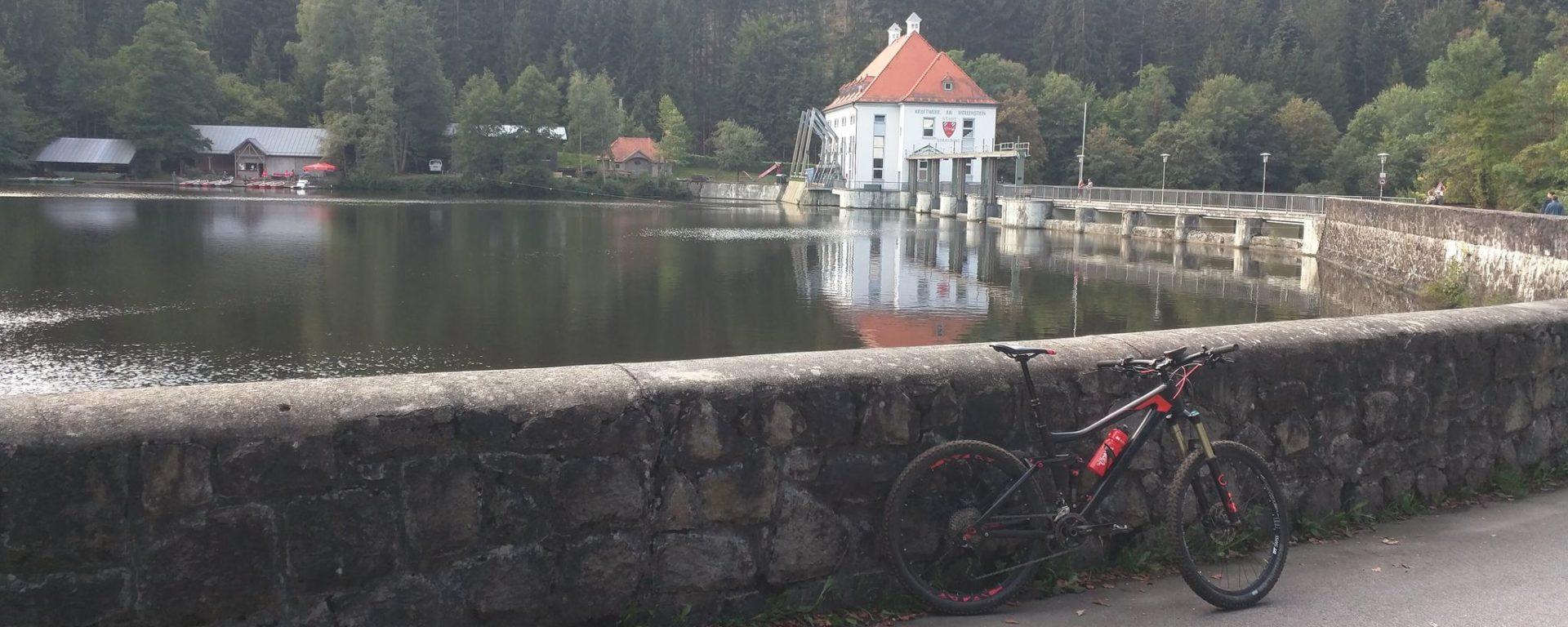 Blaibacher See, Kraftwerk am Höllensteinsee