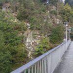 Staumauer am Höllensteinsee