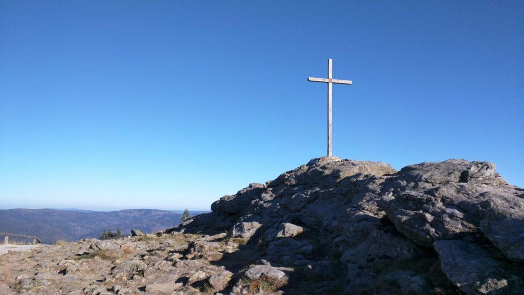 Gipfel des Großen Arbers