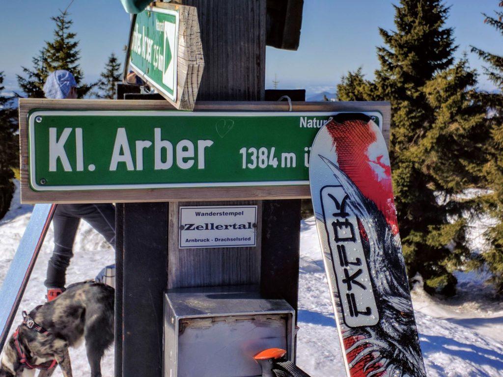 Skitour auf den Kleinen Arber