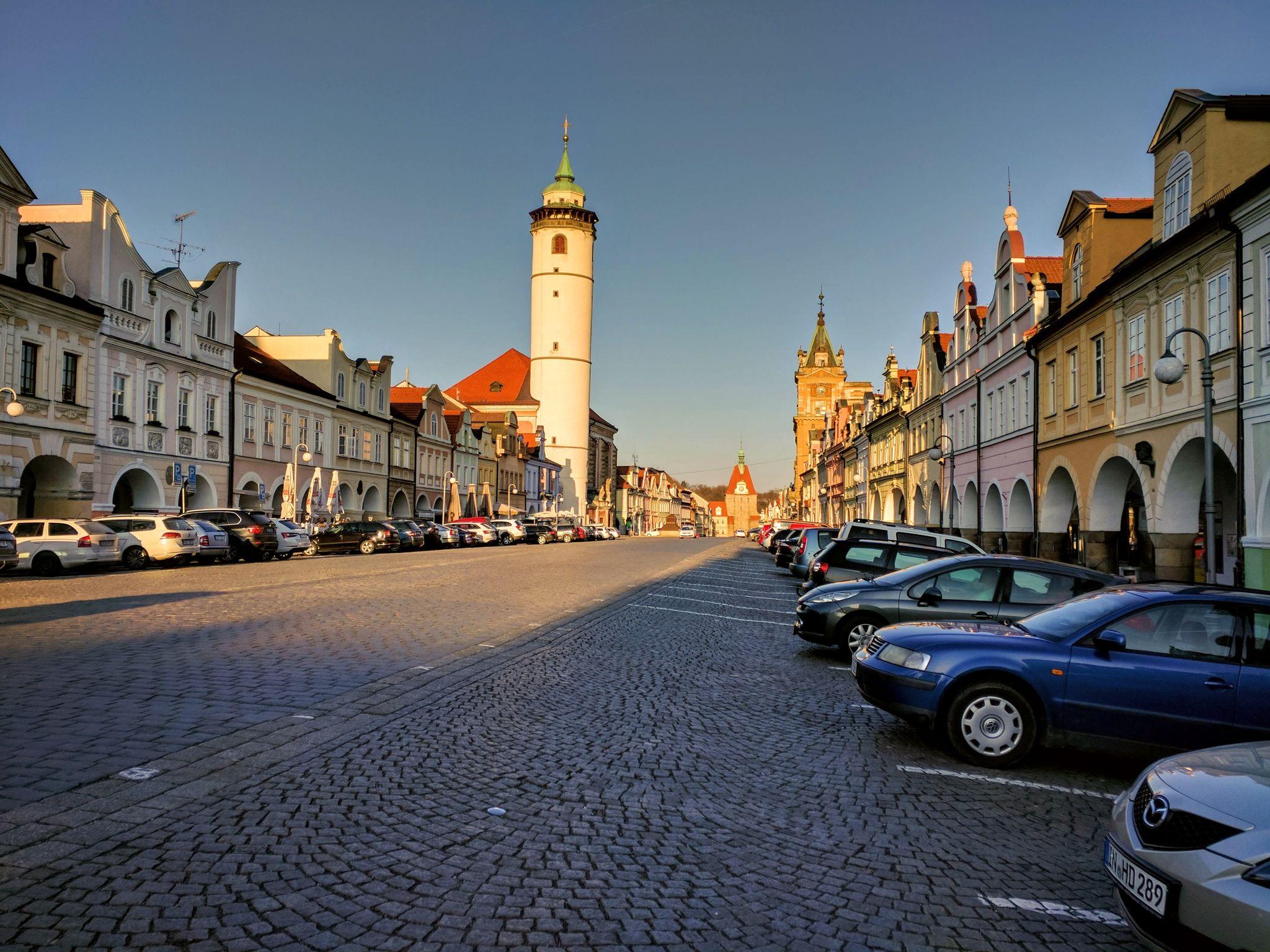 Domazlice Stadtplatz