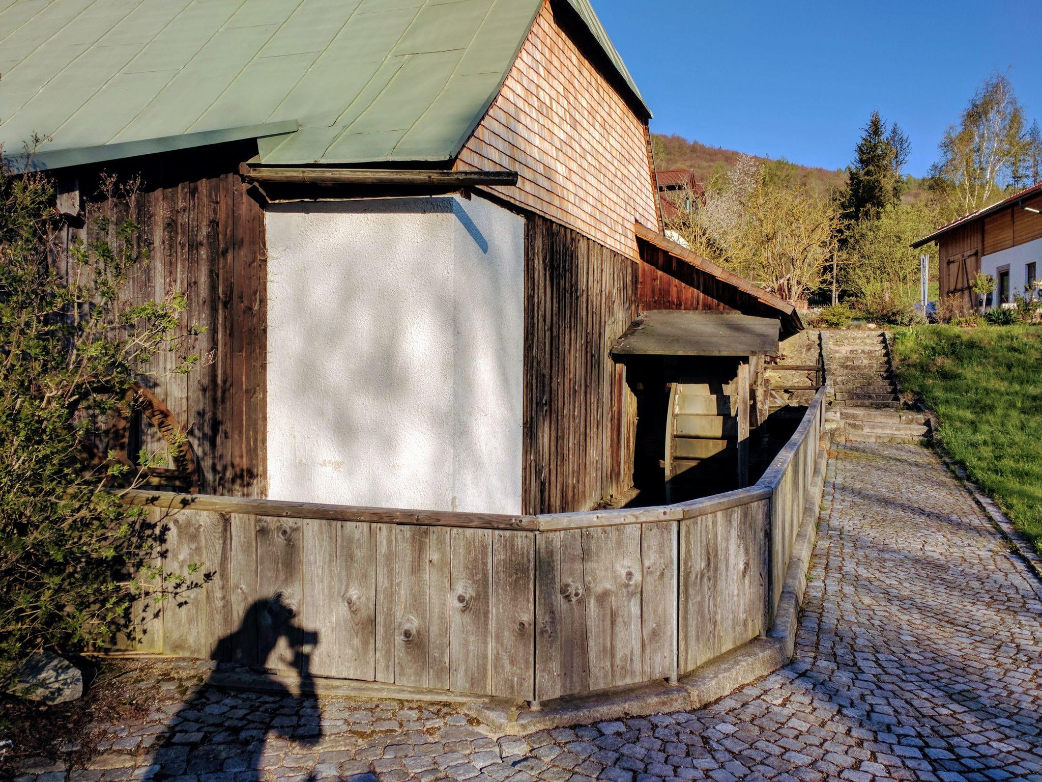 Trans Bayerwald - Wasserrad des Voithenberghammers