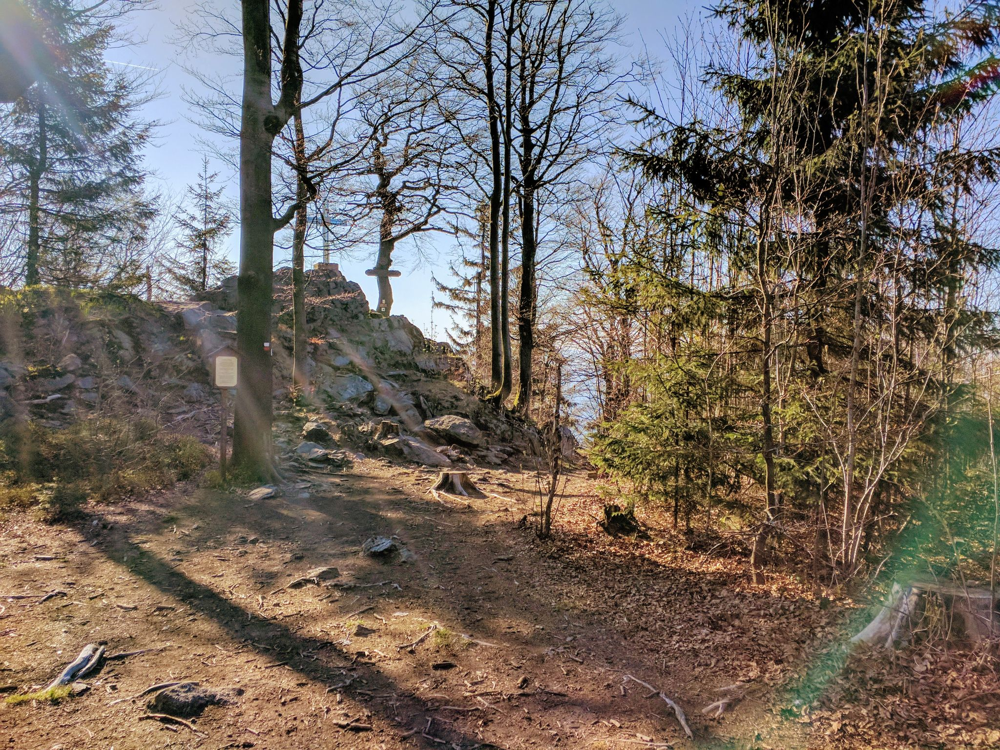 Trans Bayerwald - Der Reiseck in der Morgensonne