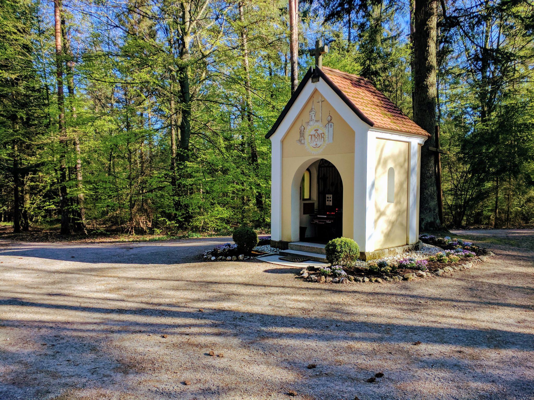 Trans Bayerwald - Steinhäufl-Kapelle bei Strahlfeld