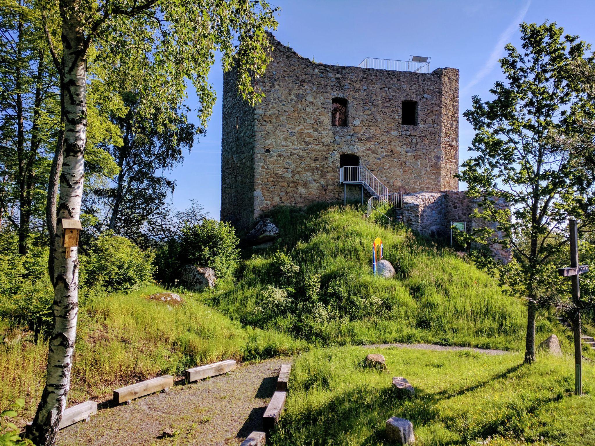 Burgruine Lobenstein bei Zell