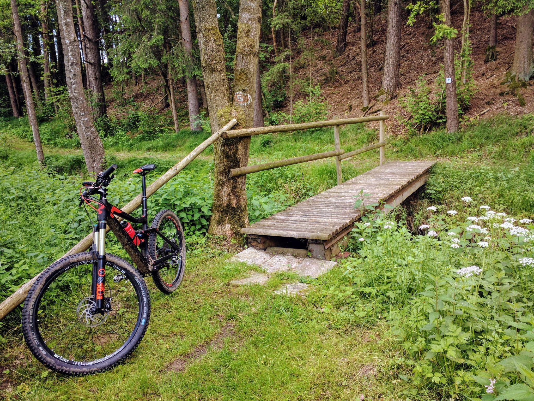 Schöner Trail nach Loitzendorf