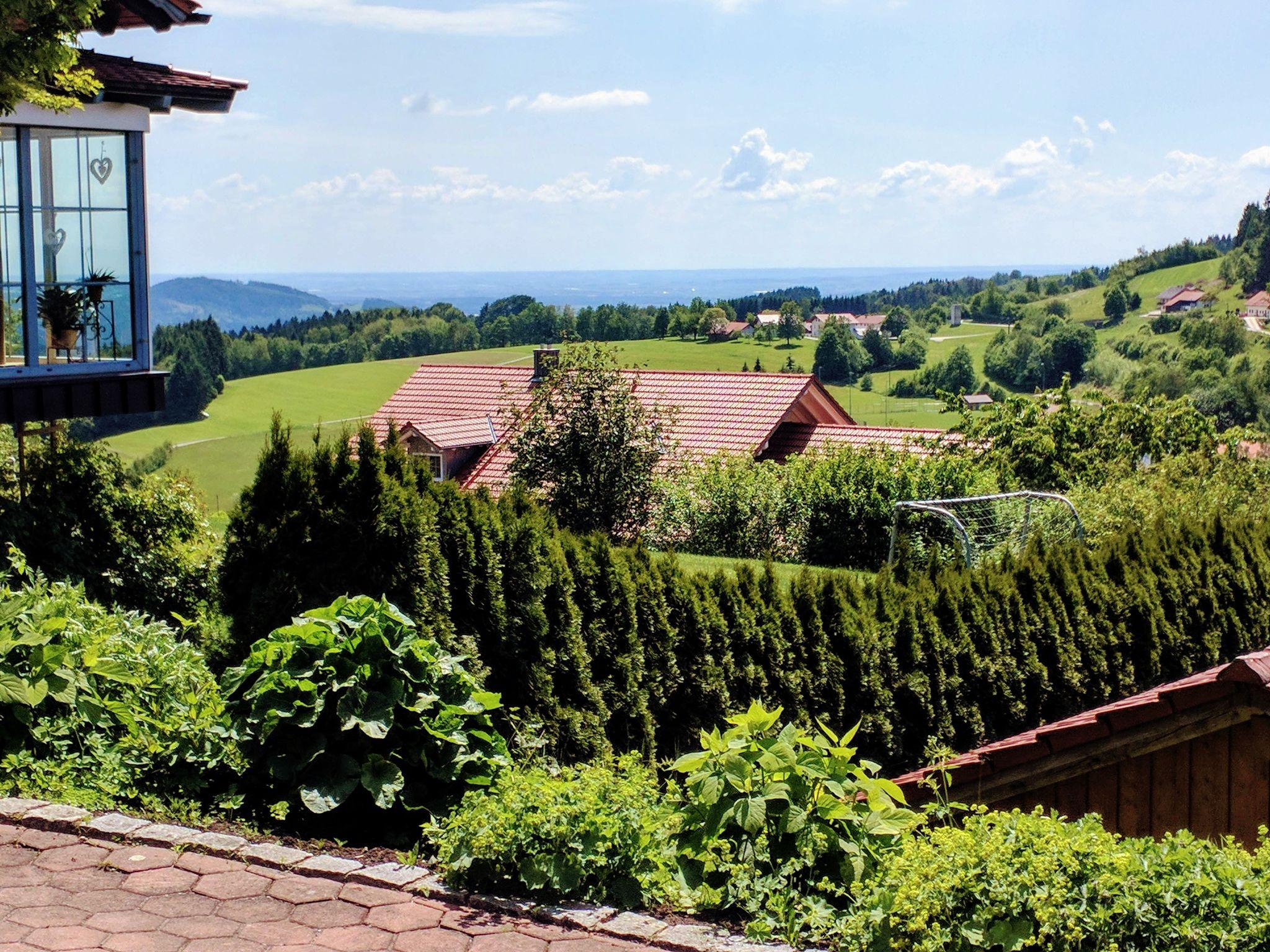 Trans Bayerwald - Blick in die Donauebene von Elisabethszell aus