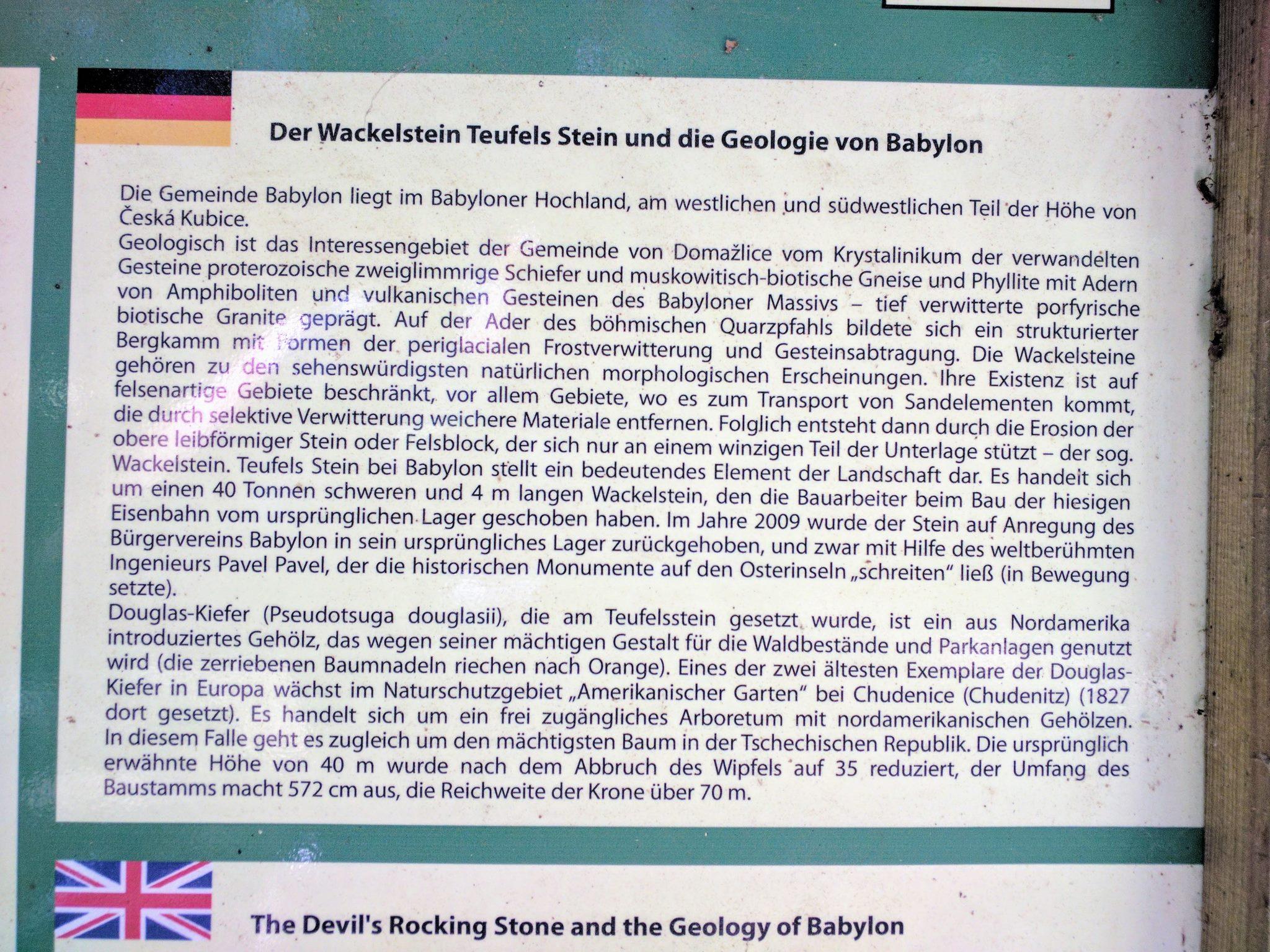 Wackelstein bei Babylon