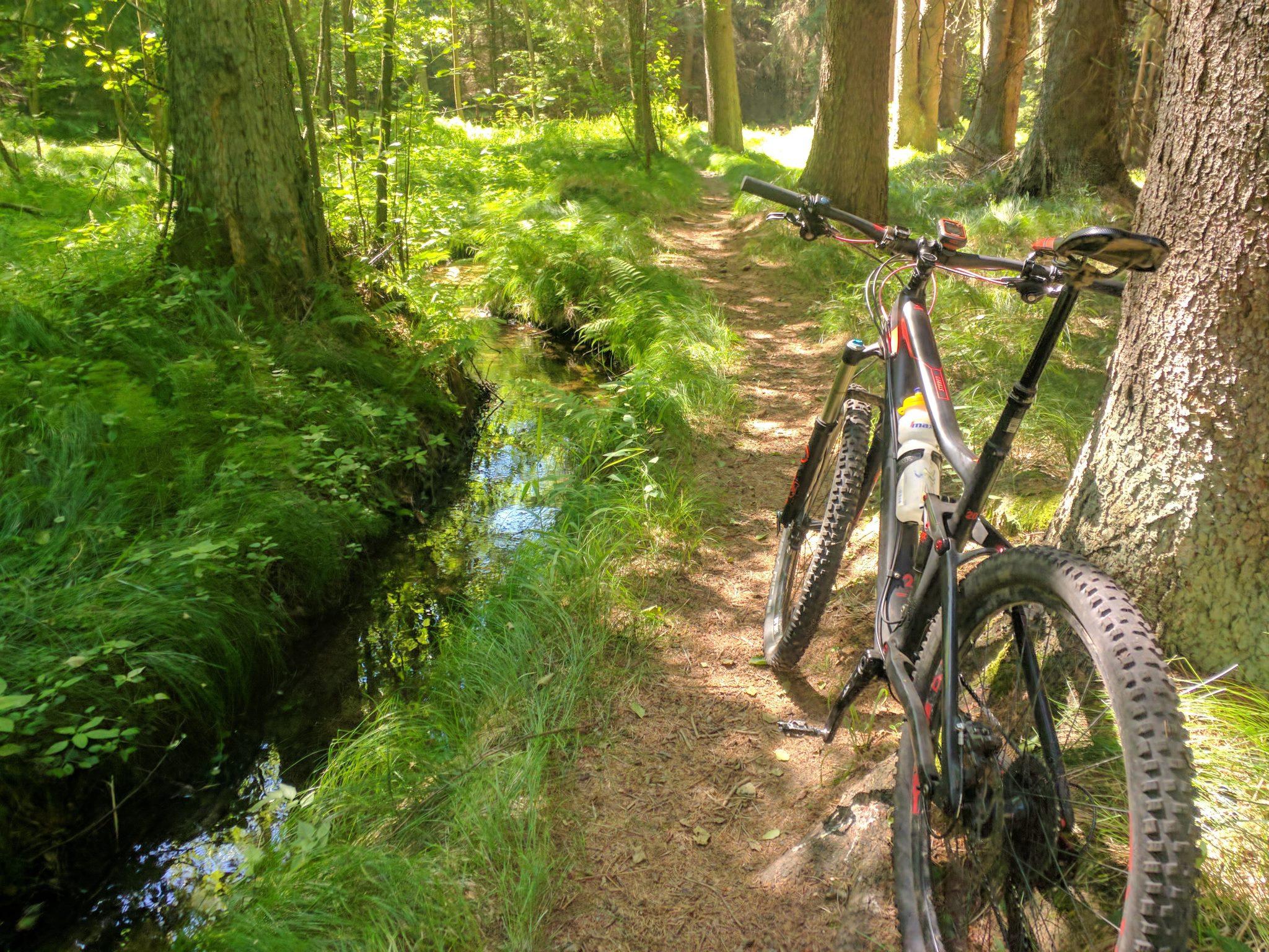 Trail am Pastriz-Kanal