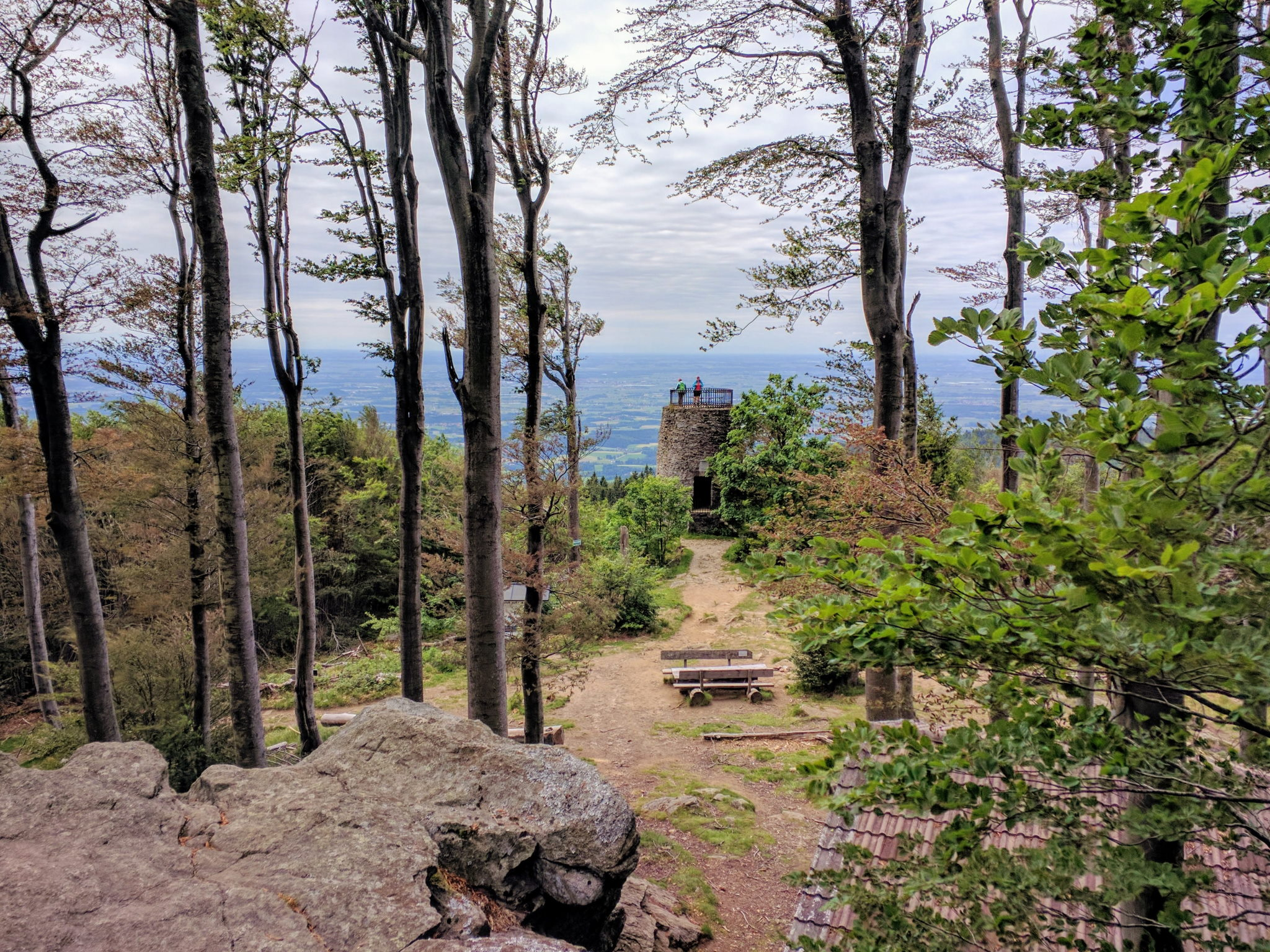 Gipfel des Hirschensteins
