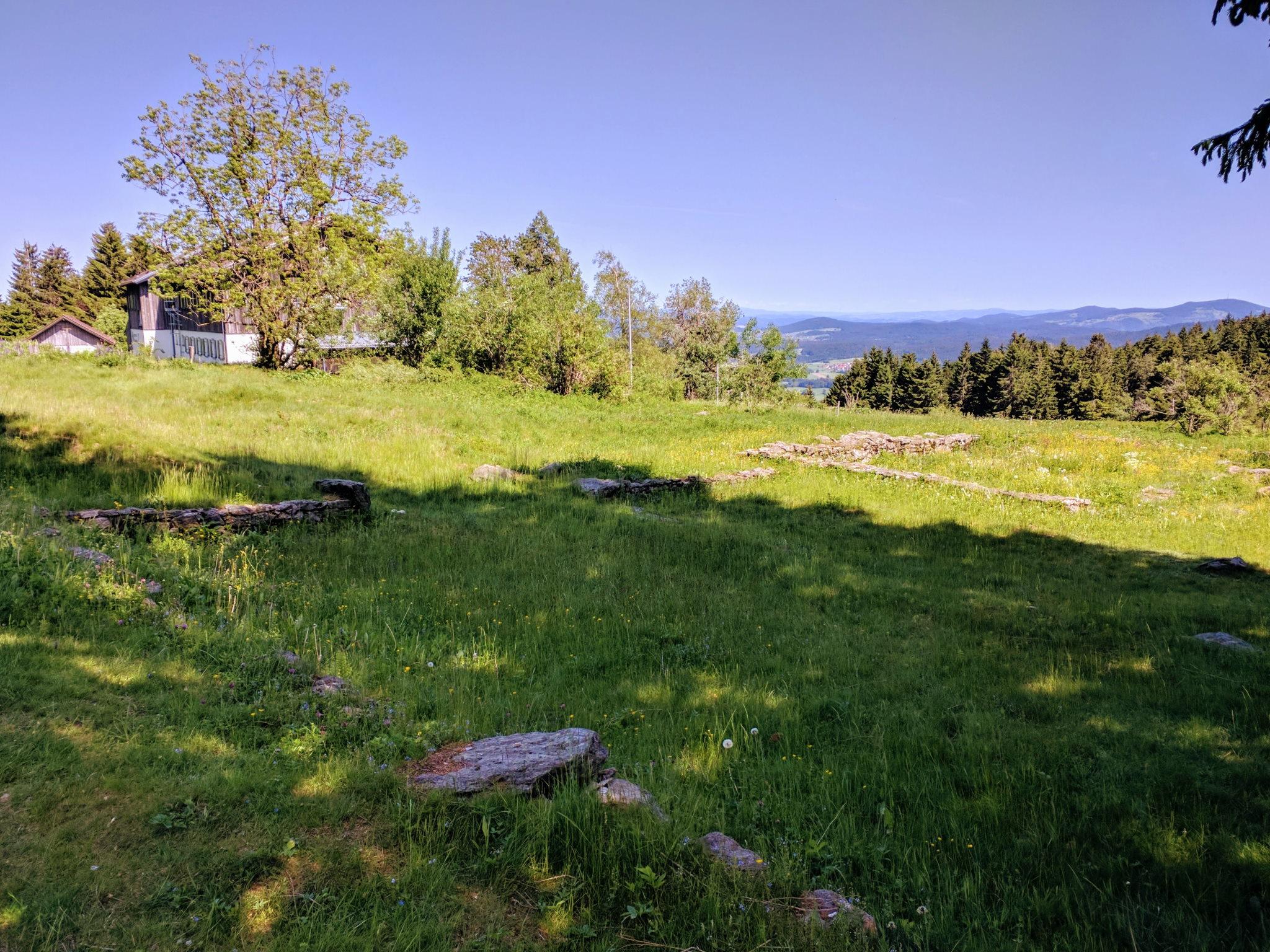 Die Reste von Oberbreitenau