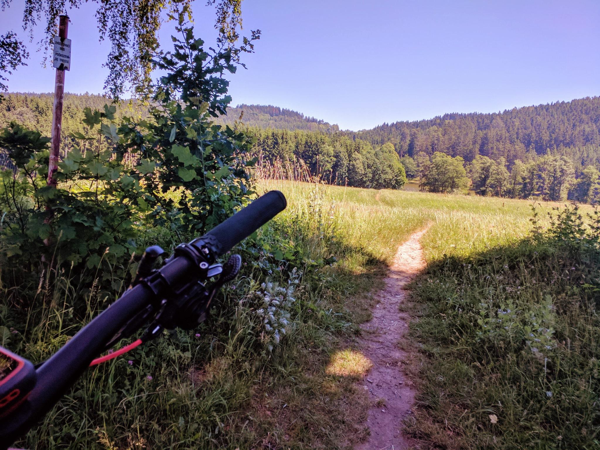 Trail zum Strakovsky Rybnik