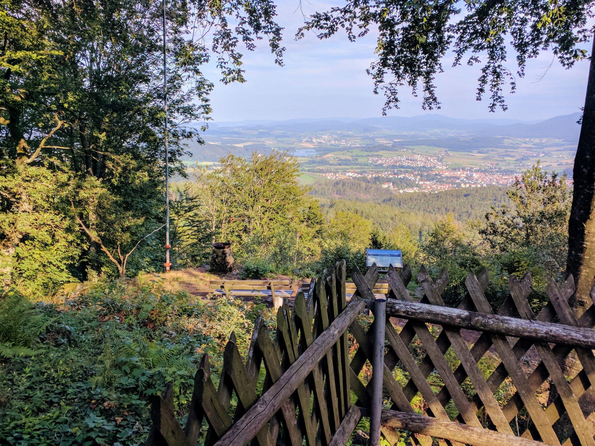 Blick von der Roberthütte