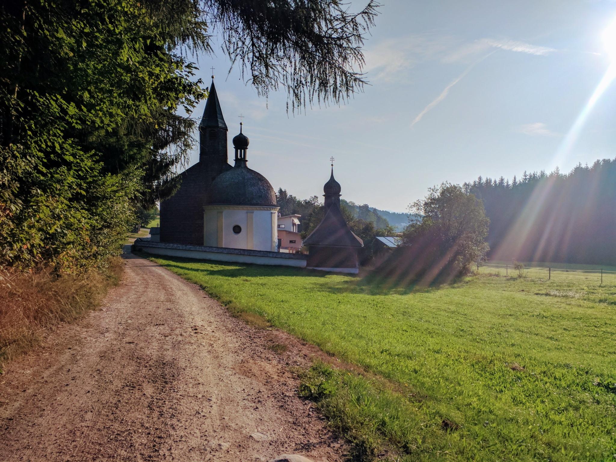 Trans Bayerwald - Kirche St. Herrmann bei Bischofsmais