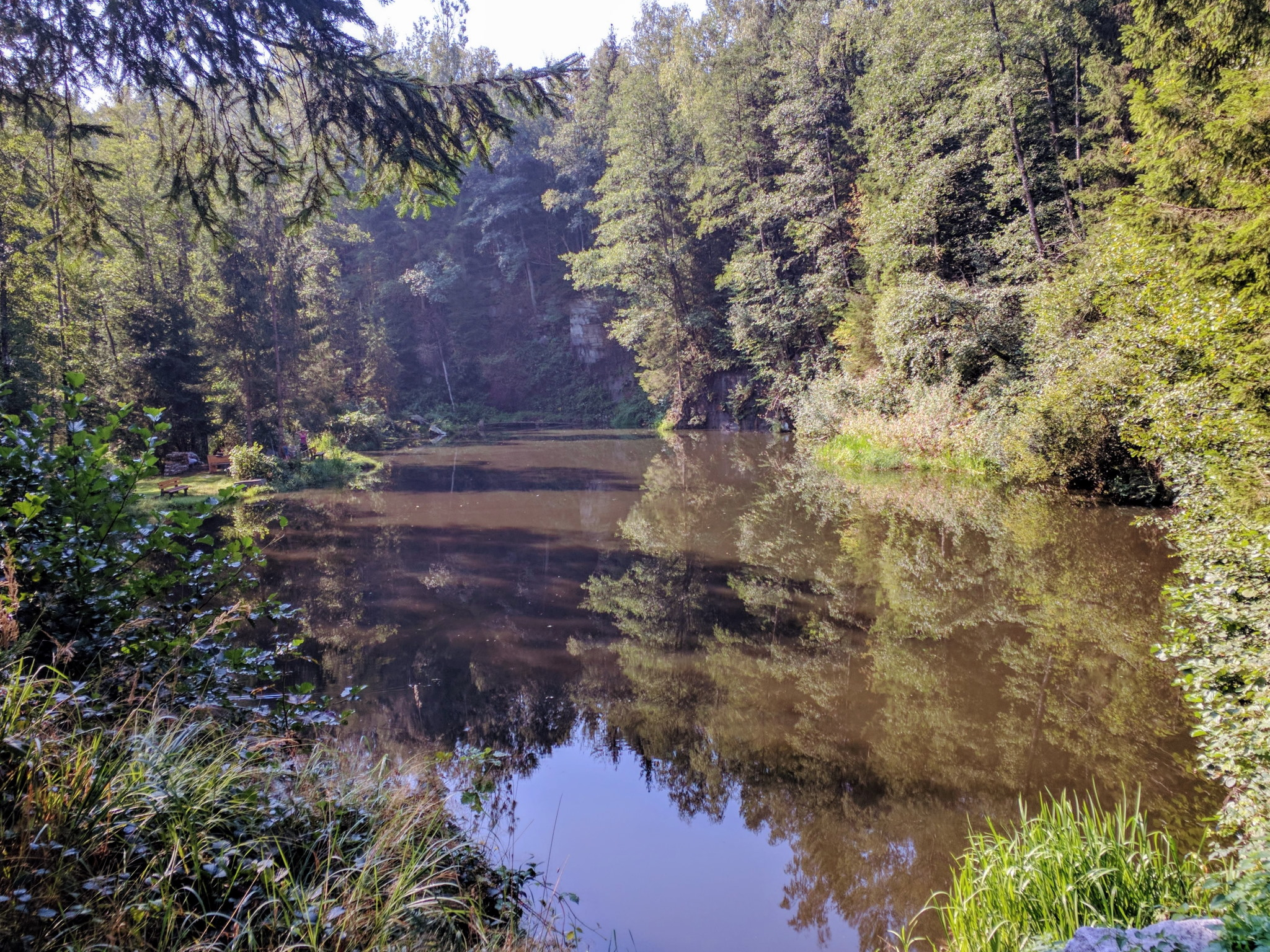 Trans Bayerwald - Kleiner See bei Klaußing