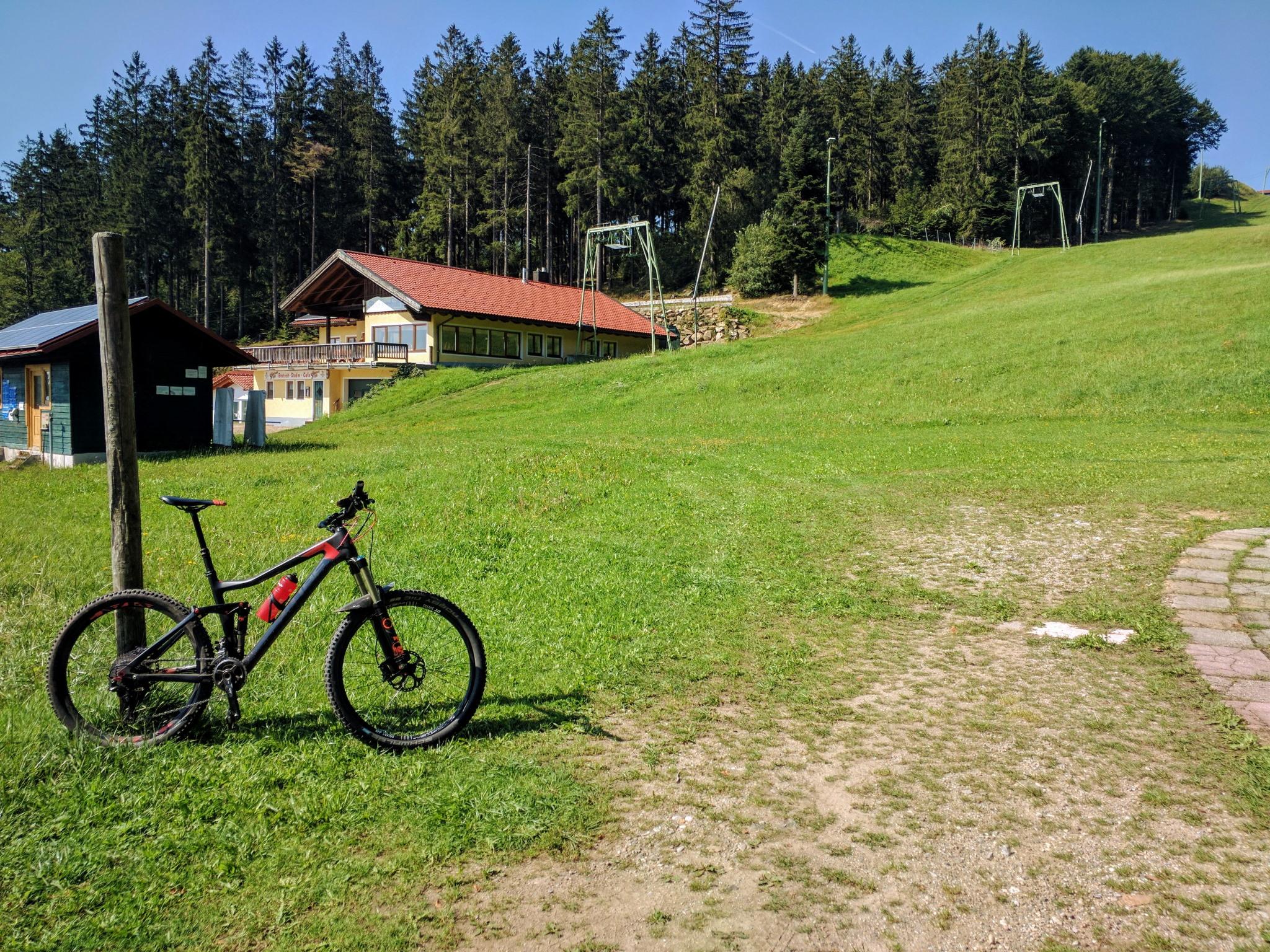 Trans Bayerwald - Steinberglift bei Langfurth