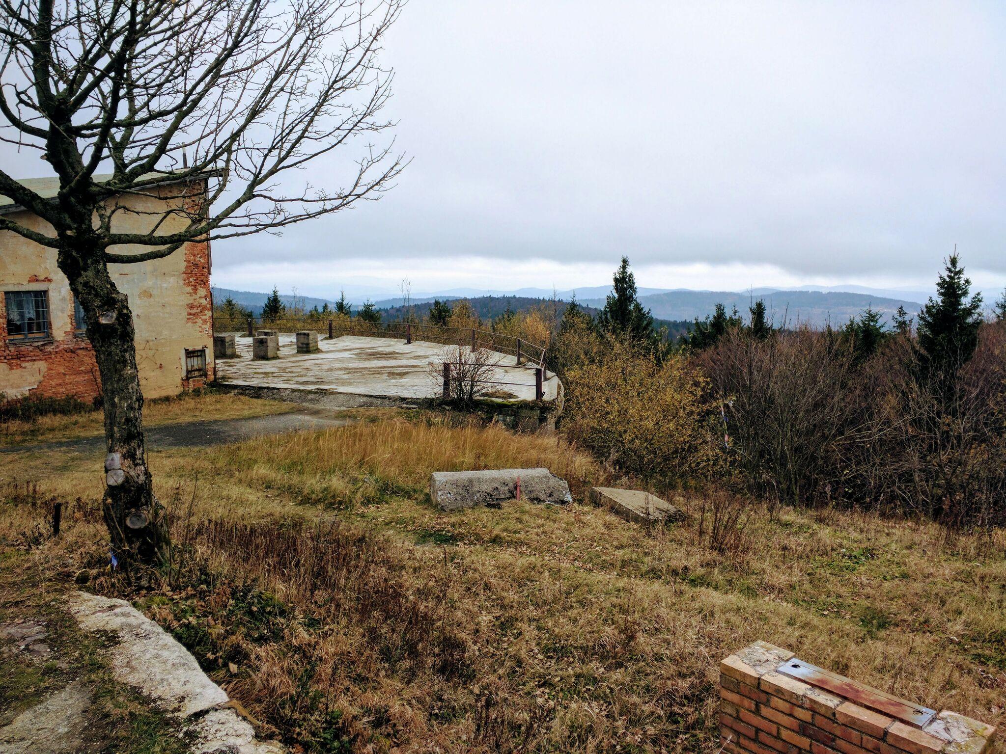 Ausblick von Cerchov-Gipfel