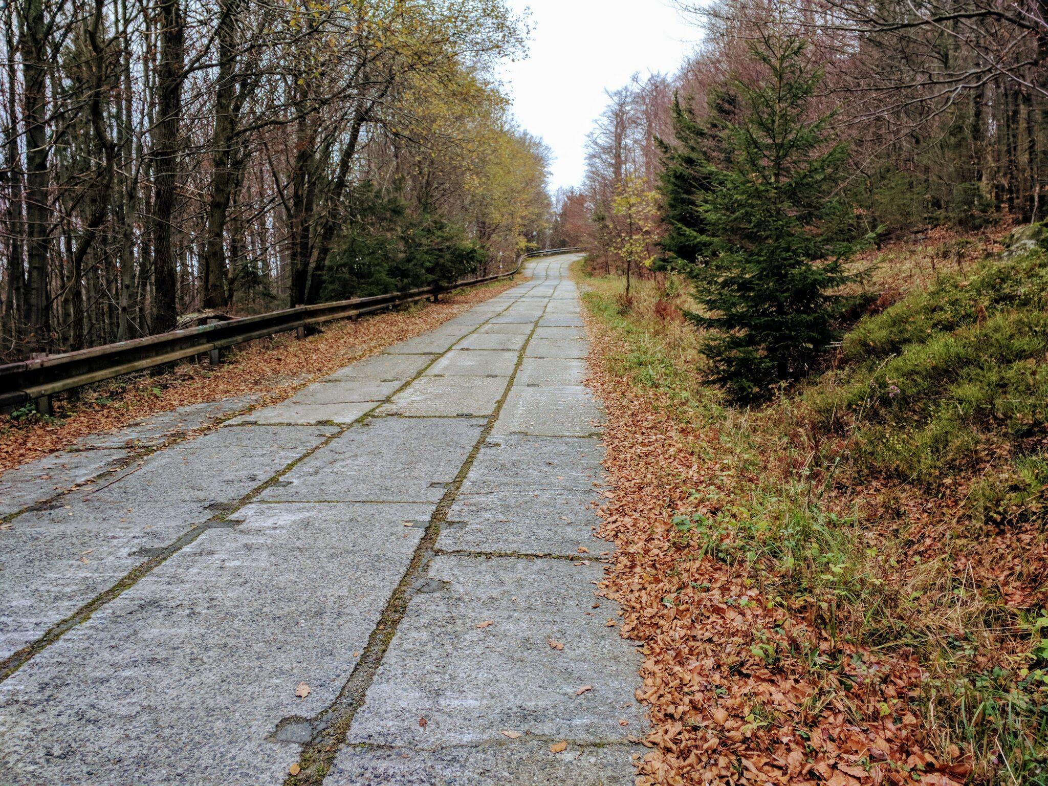 Plattenstraße zum Cerchov