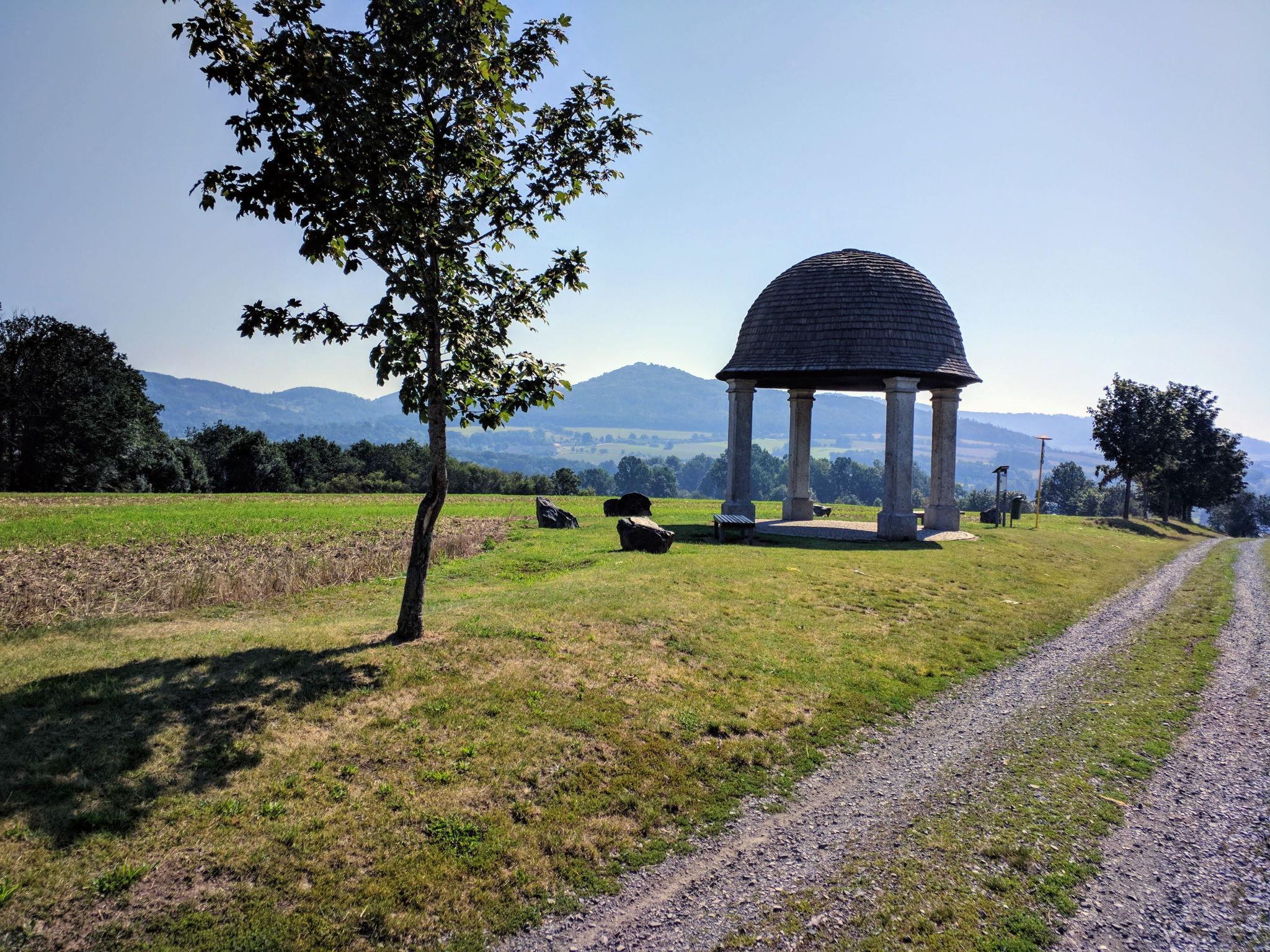 Denkmal für die Schlacht bei Taus