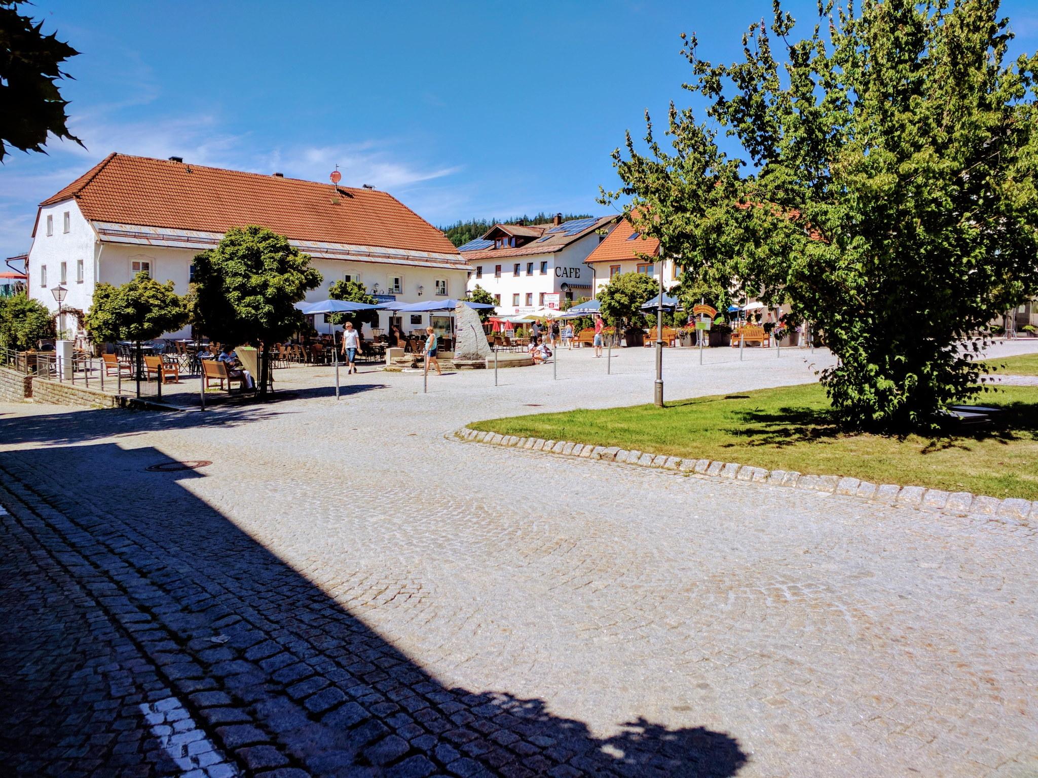Marktplatz in Bodenmais