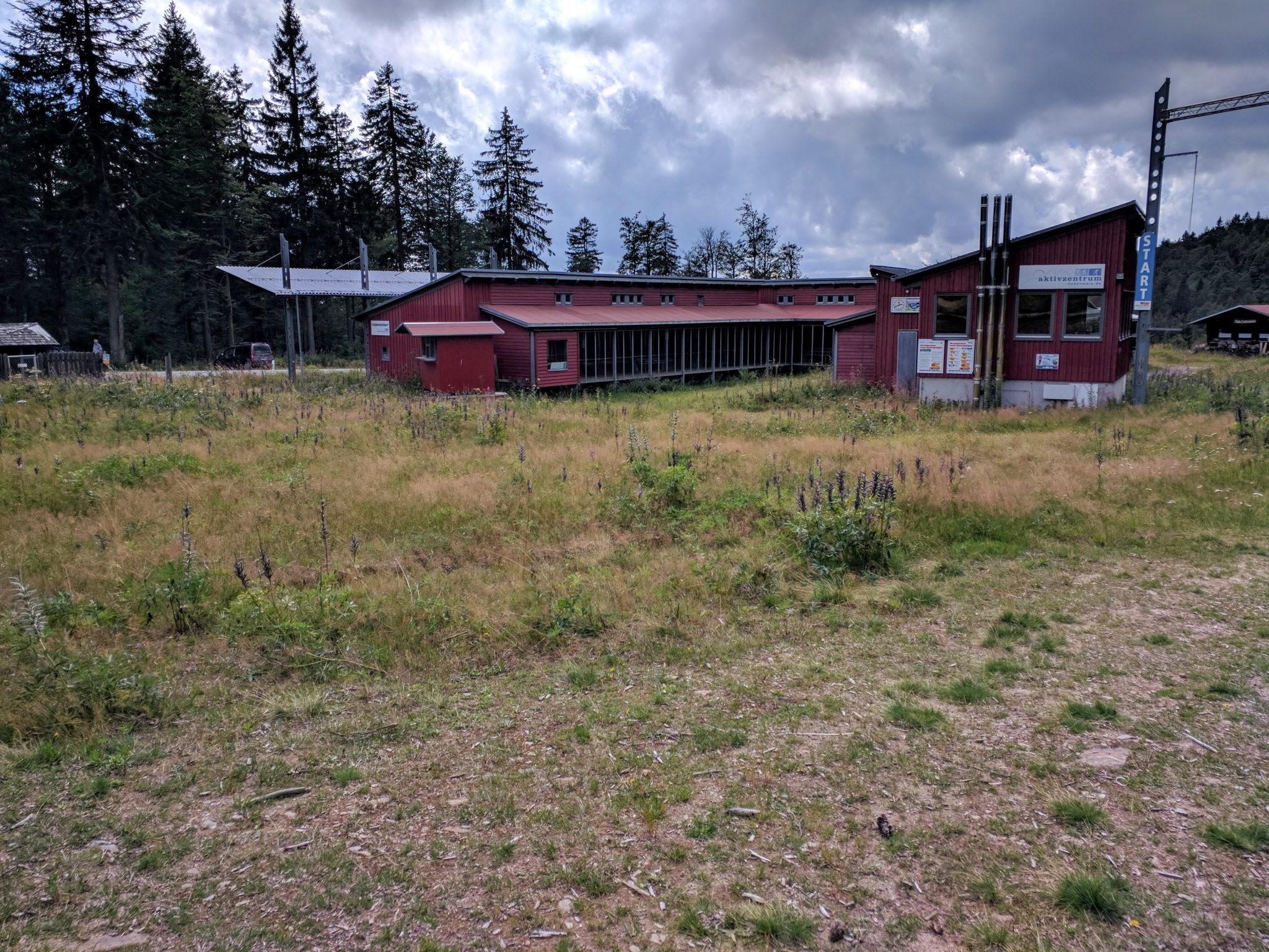 Langlaufzentrum in Bretterschachten