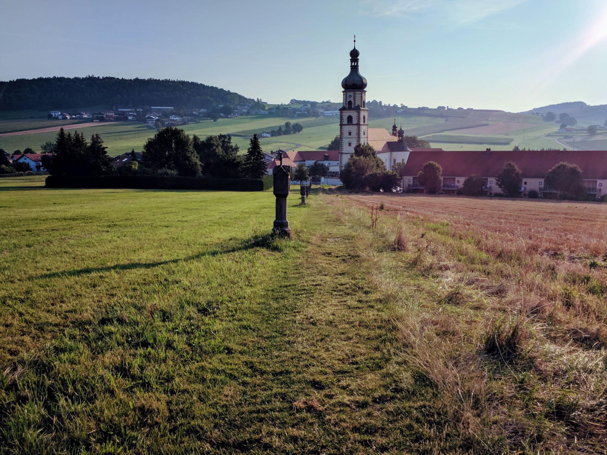 Wallfahrtskirche in Neukirchen beim Heiligen Blut