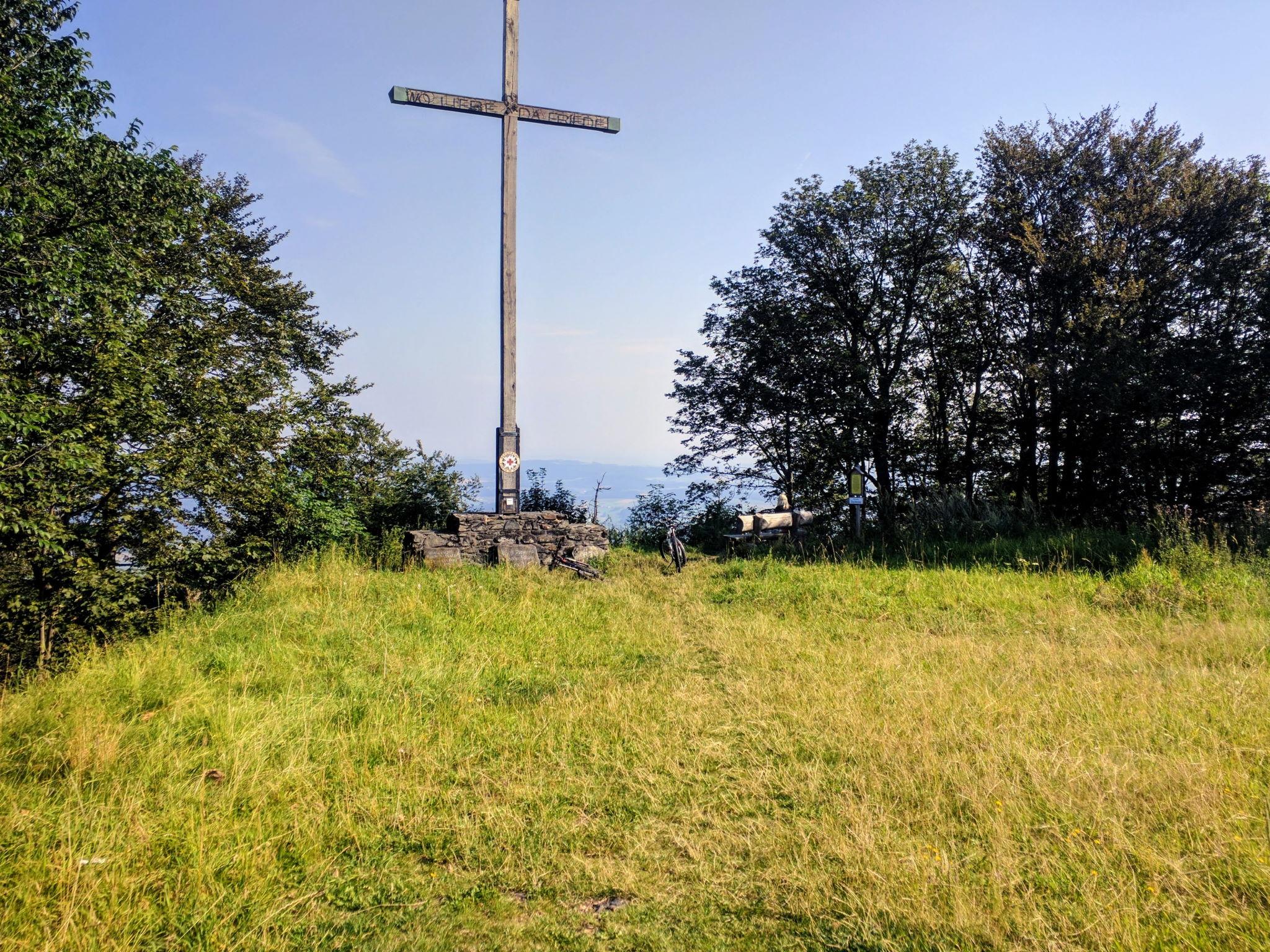 Gipfelkreuz Burgstall