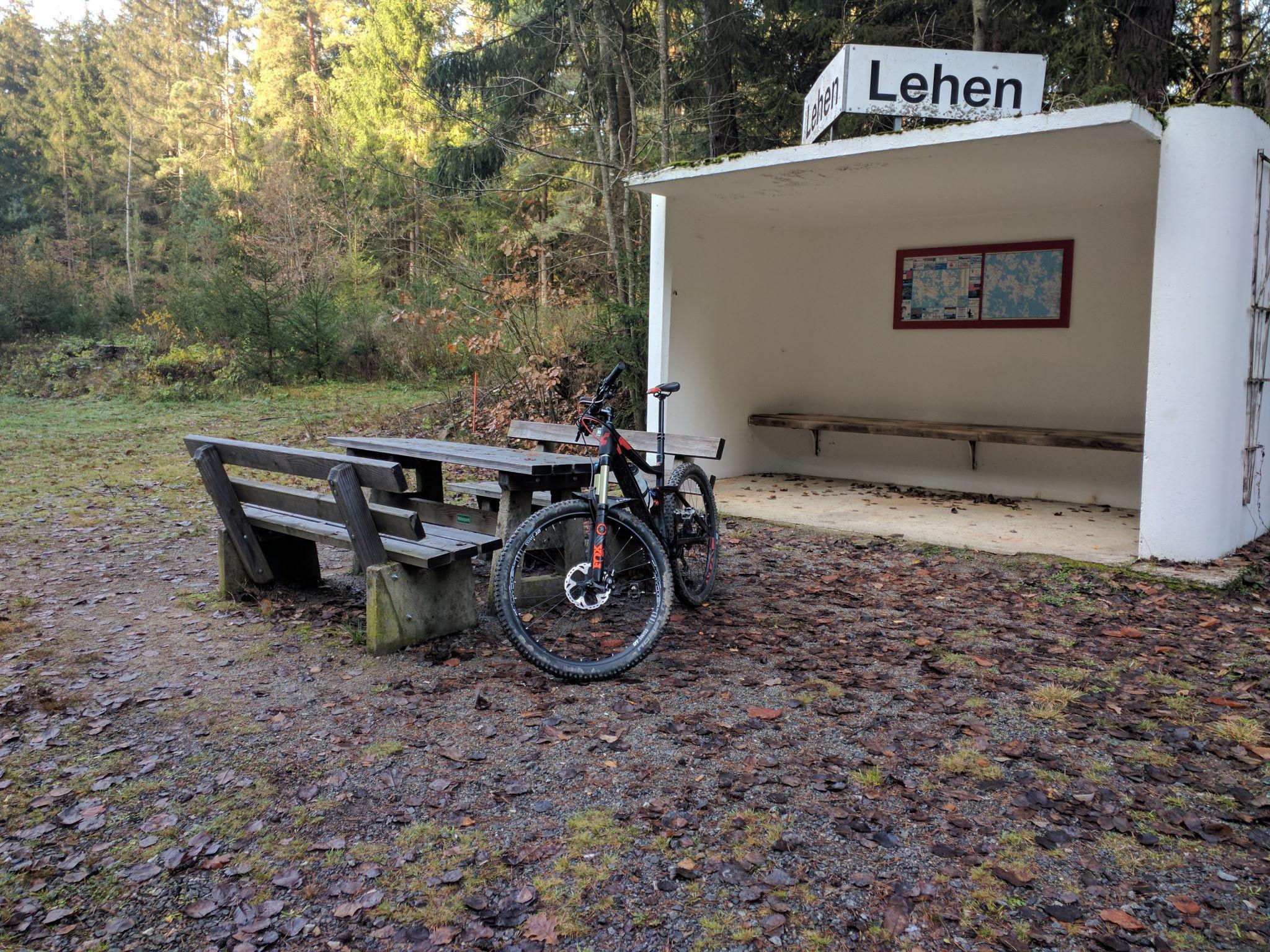 Ehemaliger Bahnhaltepunkt Lehen