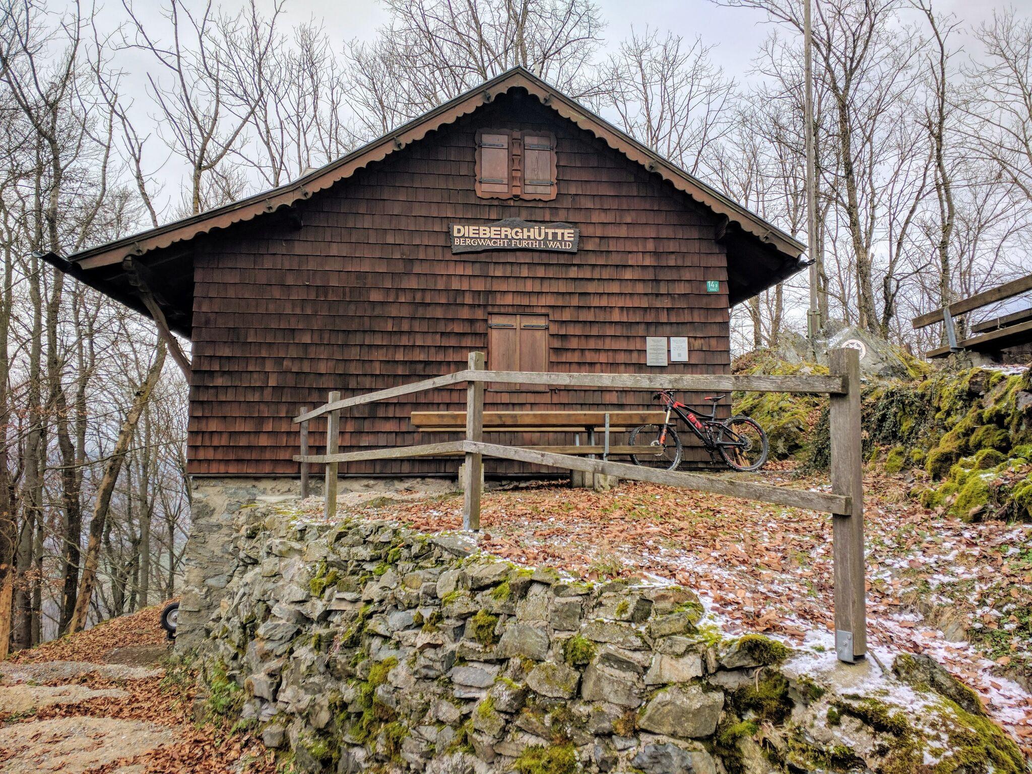Dieberghütte der Bergwacht Furth im Wald